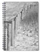 Bw Fence Line Spiral Notebook