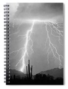 Bw Lightning From Heaven Spiral Notebook