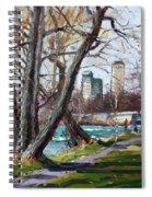By Niagara River Spiral Notebook