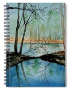 By River's Edge Spiral Notebook