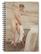 By The Bath Tub Spiral Notebook