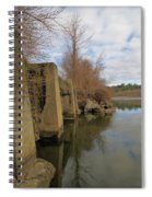 By The Bridge Spiral Notebook