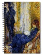 By The Fireside 1875 Spiral Notebook