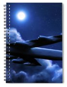 By The Light Of The Blue Moon Spiral Notebook