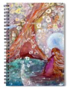 By The Light Of The Full Moon Spiral Notebook