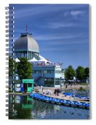 By The Port Montreal Spiral Notebook