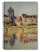 By The River At Vernon Spiral Notebook
