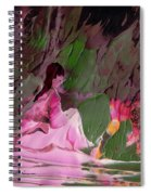 By The River Piedra I Sat Down And Wept Spiral Notebook