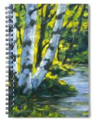 By The River Spiral Notebook