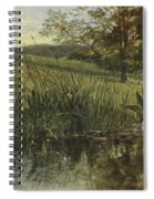 By The Riverbank, 1869 Spiral Notebook