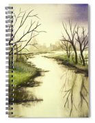 By The Riverside Spiral Notebook