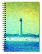 By The Sea - Cape May Lighthouse Spiral Notebook