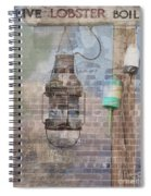 By The Sea In Color Spiral Notebook