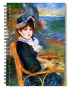 By The Seashore 1883 Spiral Notebook