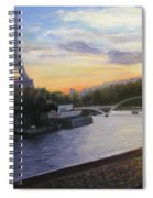 By The Seine Spiral Notebook