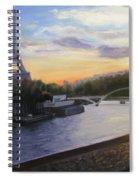 By The Seine Spiral Notebook