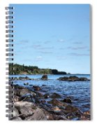By The Shining Big Sea Water Spiral Notebook