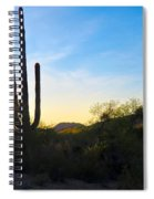 By The Vekol Wash Spiral Notebook