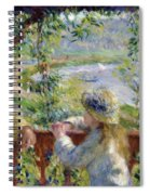 By The Water Near The Lake Spiral Notebook