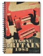 Bygone Britain 1983 Spiral Notebook