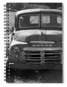 Bygone Dodge In Black And White Spiral Notebook