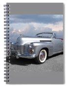 Bygone Era - 1941 Cadillac Convertible Spiral Notebook