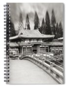 Byodo-in Temple Spiral Notebook
