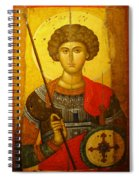 Byzantine Knight Spiral Notebook