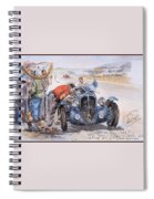 c 1949 the delahaye 135 s driven by giraud and gabantous Roy Rob Spiral Notebook