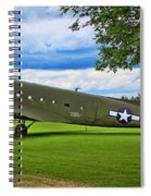 C-47 Special Delivery Spiral Notebook