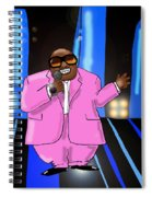 C-lo Pink Spiral Notebook