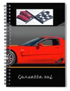C5 Corvette Zo6 'profile' I Spiral Notebook