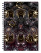 Cabalistic Symmetry Of Q Spiral Notebook