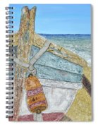 Cabbing Skiff  Spiral Notebook