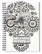 Cabeza De Vaca-cicleta Spiral Notebook