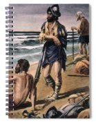 Cabeza De Vaca Expedition Spiral Notebook