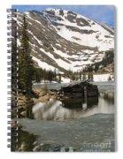 Cabin At Chinns Lake Spiral Notebook