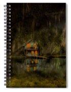 Cabin - De Land, Fl - Restless Night 1904 Spiral Notebook