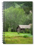 Cabin In The Aspens  Spiral Notebook