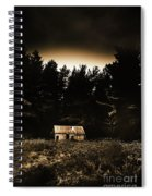 Cabin In The Woodlands  Spiral Notebook