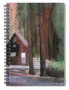 Cabin In The Woods 08 Spiral Notebook