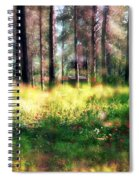 Cabin In The Woods In Menashe Forest Spiral Notebook