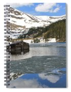 Cabin On Chinns Lake 2 Spiral Notebook