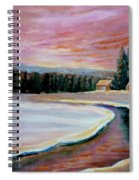 Cabin Retreat Spiral Notebook