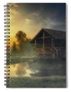 Cabin Sunrise Spiral Notebook