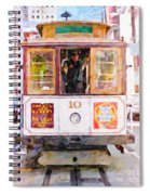 Cable Car No. 10 Spiral Notebook