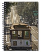 Cable Car Number 6 Spiral Notebook