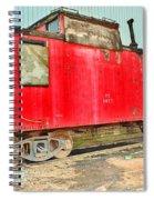 Caboose Spiral Notebook