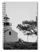 Cabrillo Lighthouse 3 Spiral Notebook