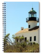 Cabrillo Lighthouse Spiral Notebook